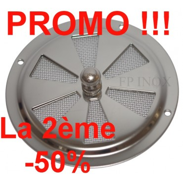 grille inox ronde