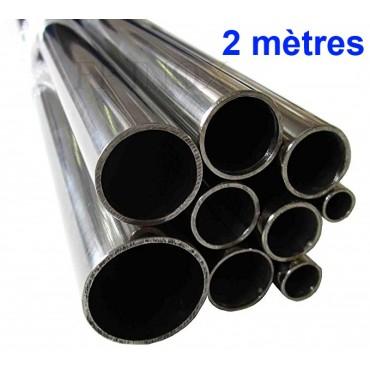 Tube inox Longueur 2 mètres