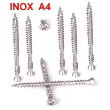 Vis inox A4 Terrasse Double...