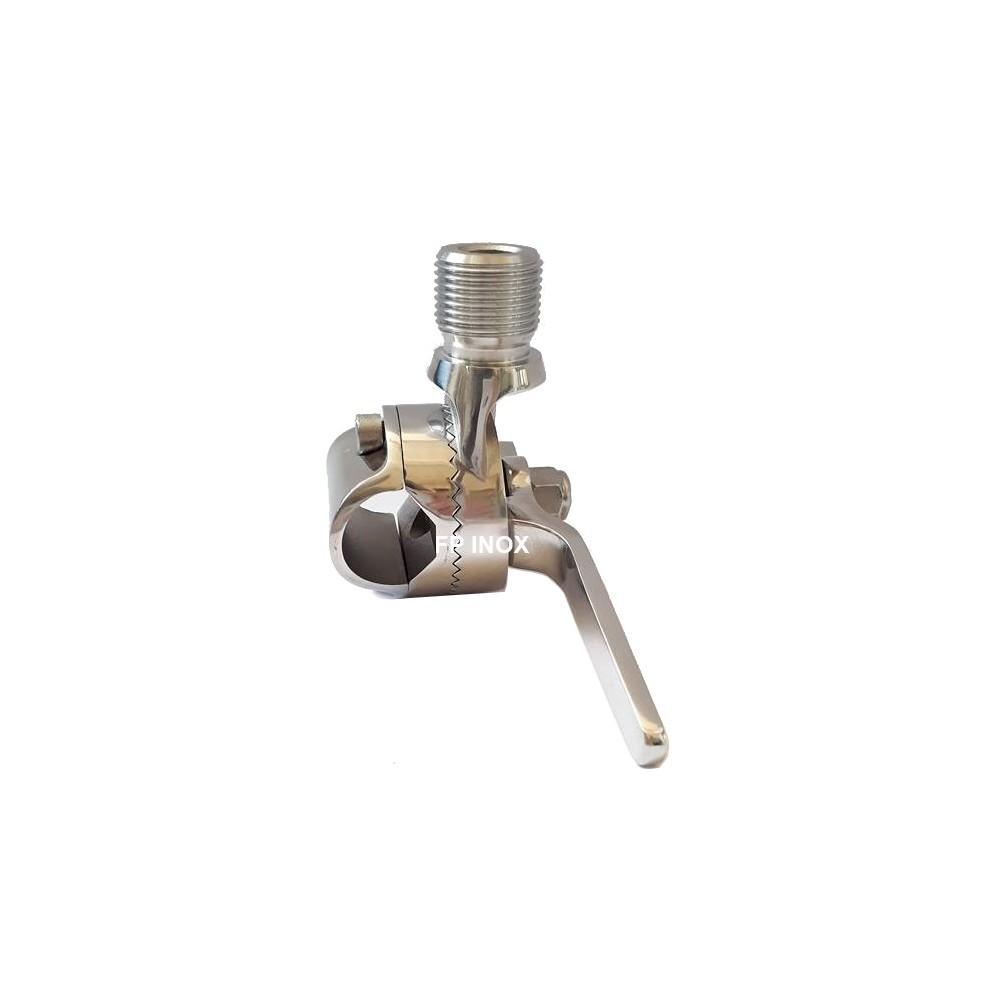 Collier articulé Pour Tube de 25mm inox 316