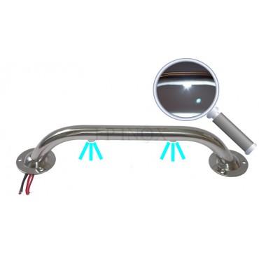 Main courante LED inox 316 au choix 1, 2, 3 ou 4 led