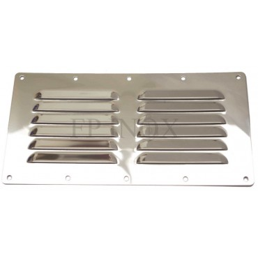 Grille inox 230mm x 115mm...