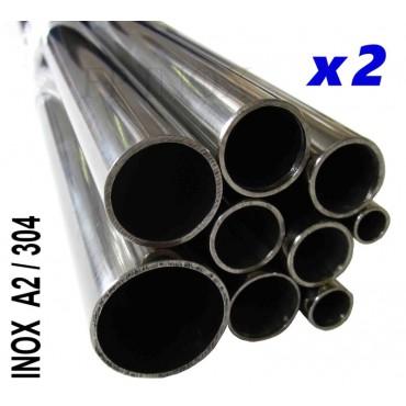 Tube inox 304 - A2 Poli...