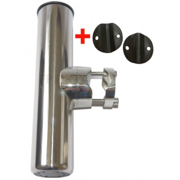 Porte canne tube ø22/25mm orientable inox 316 - A4